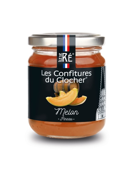 Confiture melon au pineau