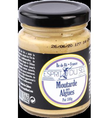 Moutarde aux algues de l'Atlantique