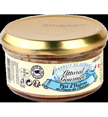 Pâté d'huîtres au pineau des Charentes