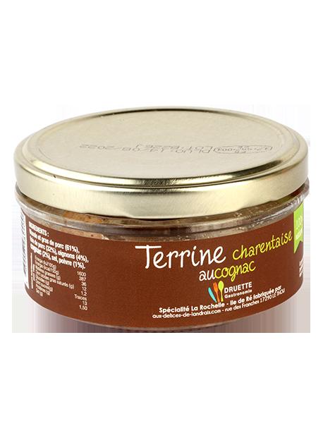 Terrine Charentaise au Cognac