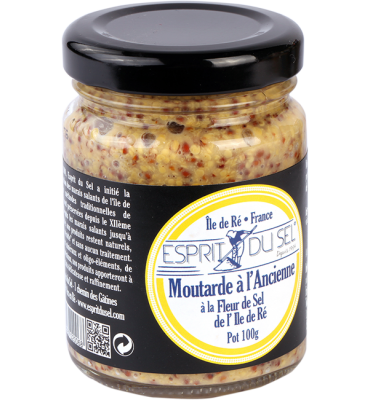 Moutarde à l'ancienne pot 100gr