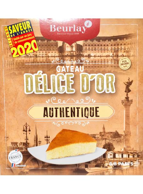 Le Gâteau Délice d'Or Nature