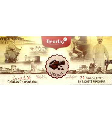 Coffret de 24 galettes individuelles aux Pépites de Chocolat