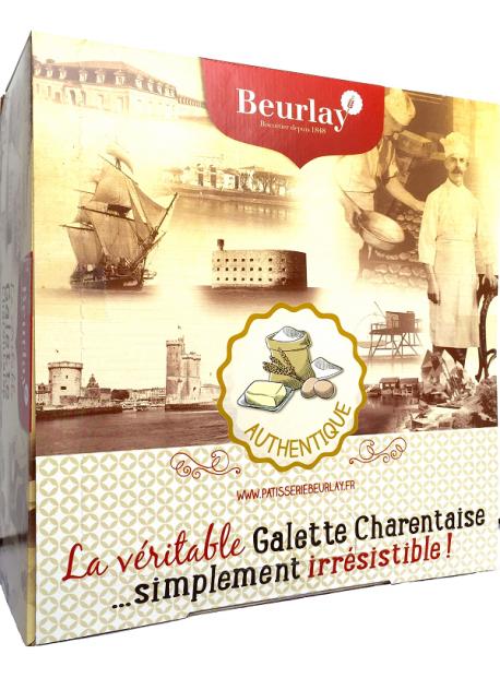 COFFRET  5 GALETTES AUTHENTIQUES Pur Beurre