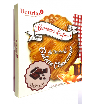 COFFRET 3 GALETTES FOURREES CHOCOLAT