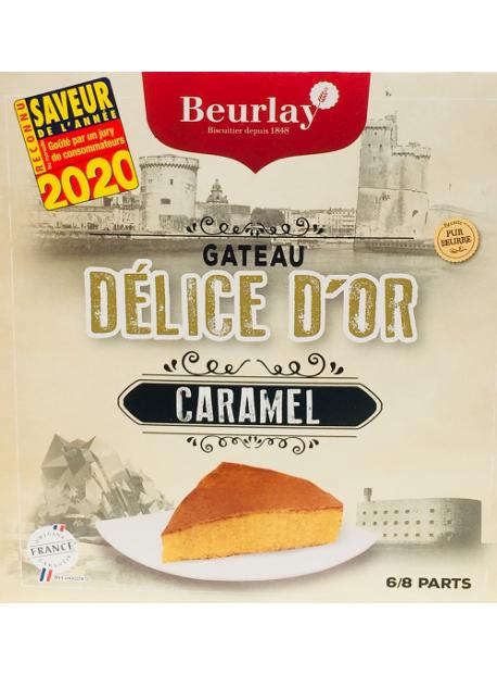 Le Gâteau Délice d'Or Caramel Au Beurre Salé