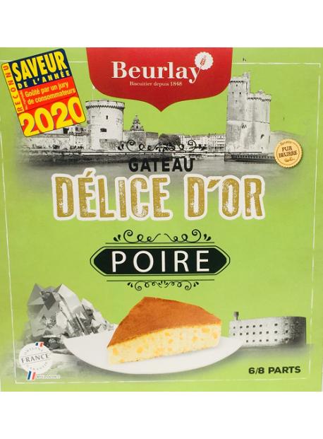 Le Gâteau Délice d'Or Poire