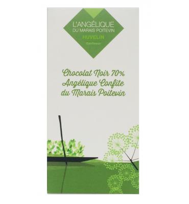 Tablette de chocolat à l'angélique