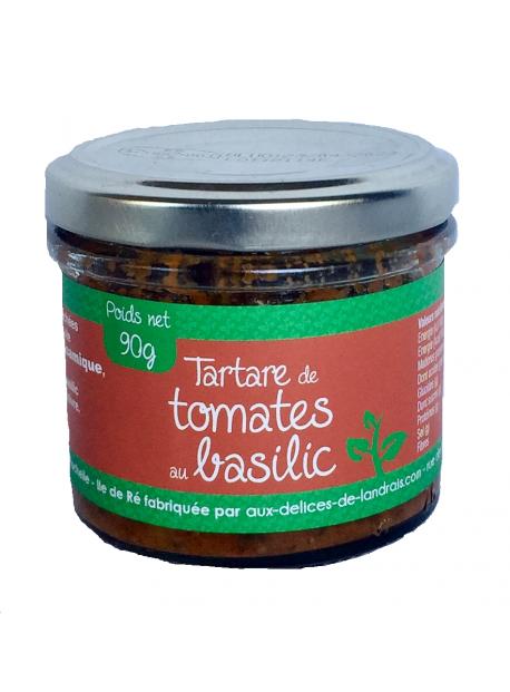 Tartare de Tomates au Basilic  90g