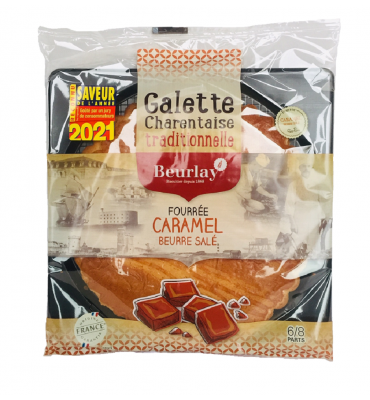 La Galette fourrée au caramel beurre salé
