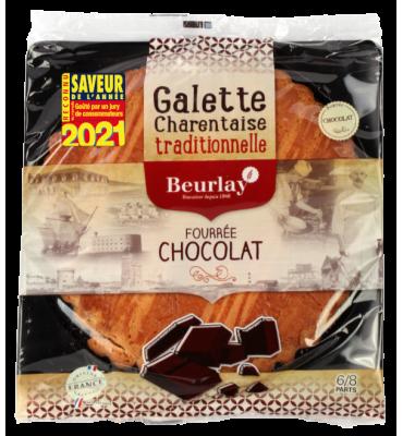 La Galette fourrée au chocolat