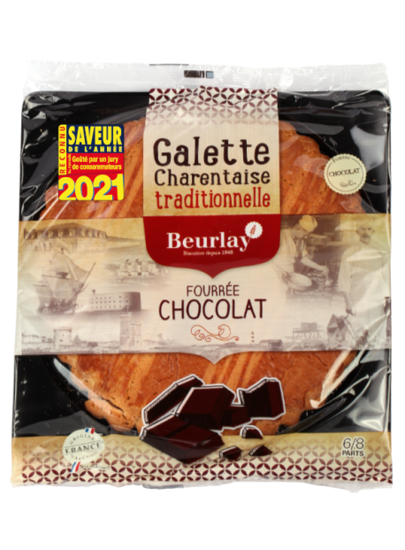 La Galette fourrée chocolat